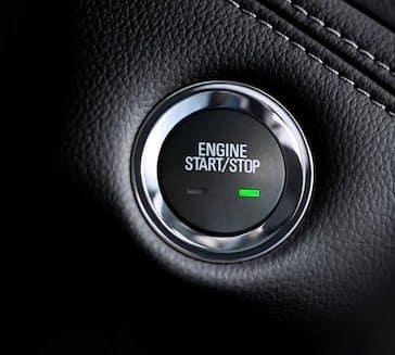 2018 Chevrolet Cruze push start button