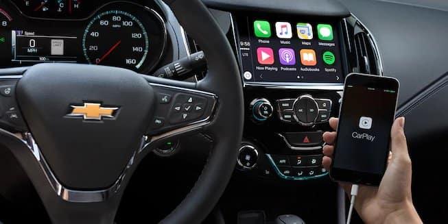 2018 Chevrolet Cruze Carplay