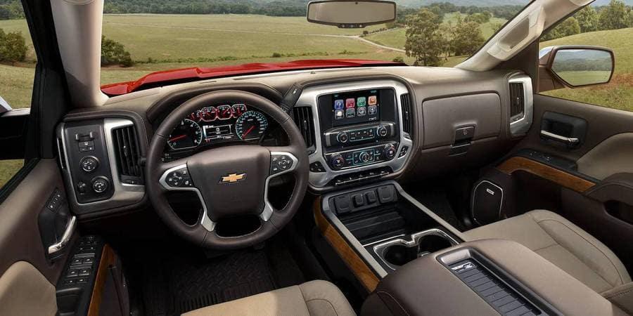 2018 Chevrolet Silverado Dash
