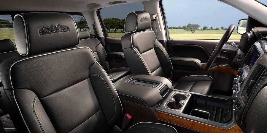 2018 Chevrolet Silverado Seats