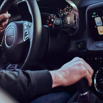 2018 Chevrolet Camaro interior