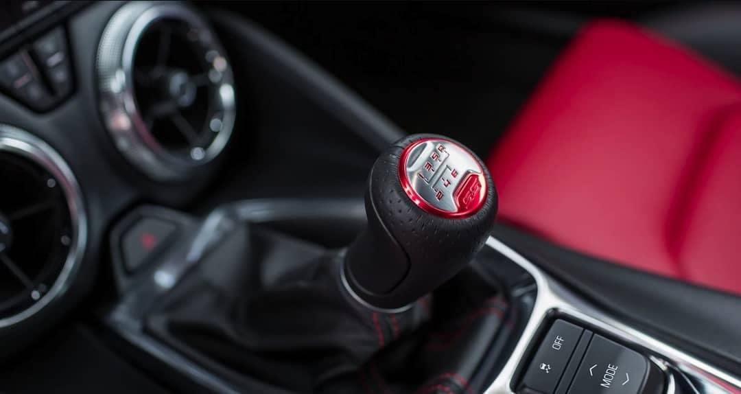 2018 Chevrolet Camaro manual transmission