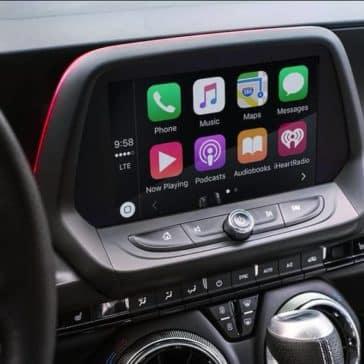 2018 Chevrolet Camaro infotainment