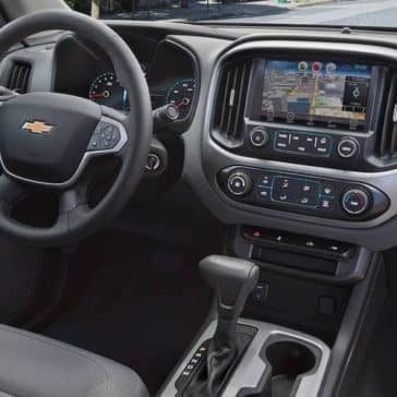 2018 Chevrolet Colorado Dashboard