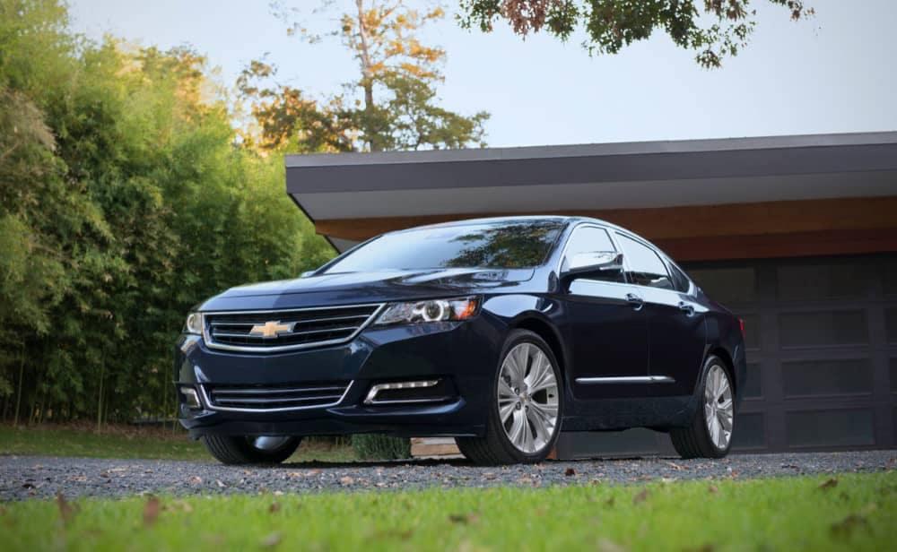 2018 Chevrolet Impala exterior