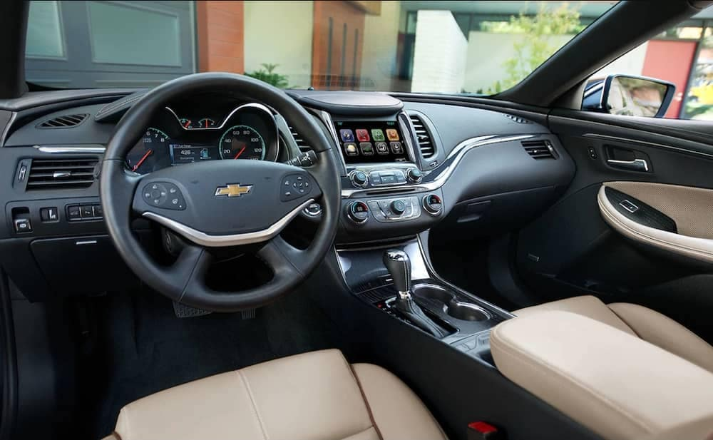 2018 Chevrolet Impala interior cabin