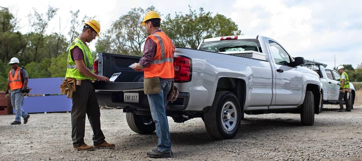 2018 Chevrolet Silverado 1500 construction use