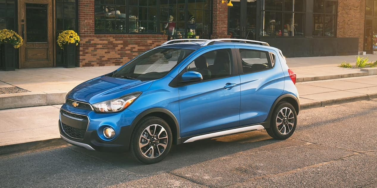 2018 Chevrolet Spark splash exterior model
