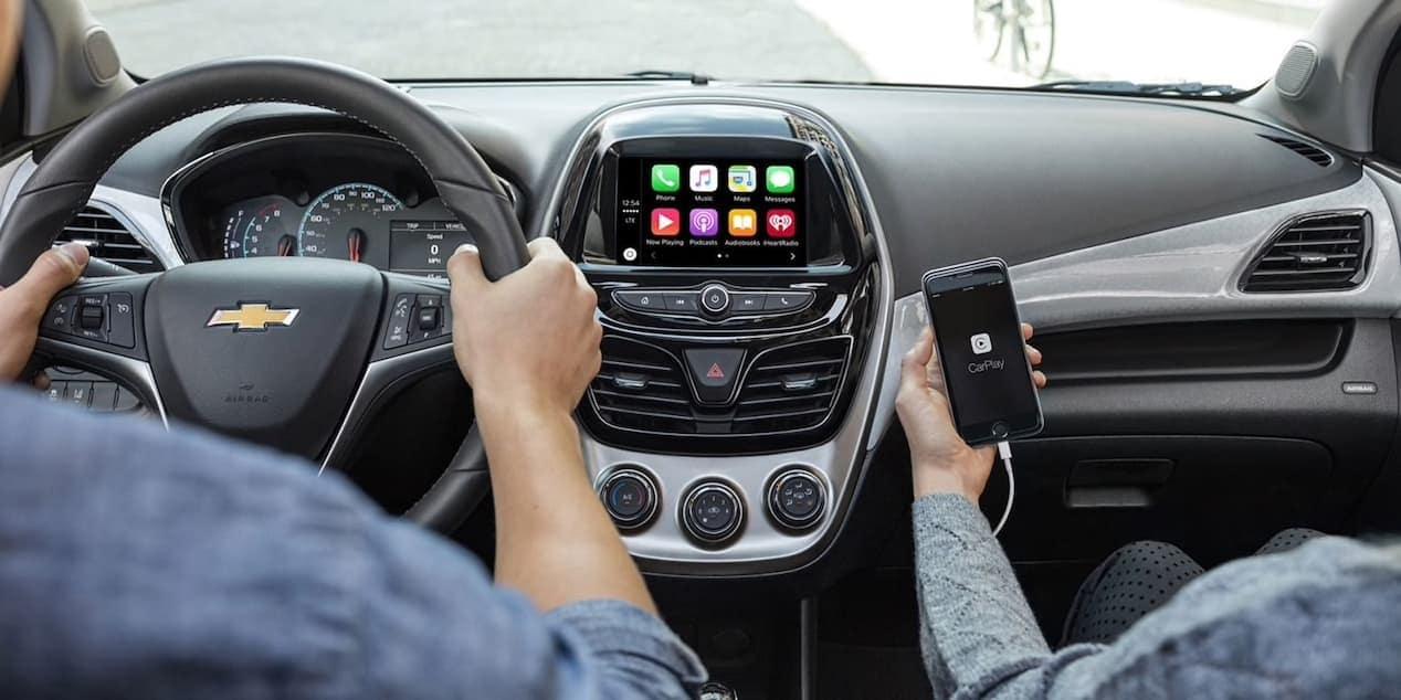 2018 Chevrolet Spark front interior