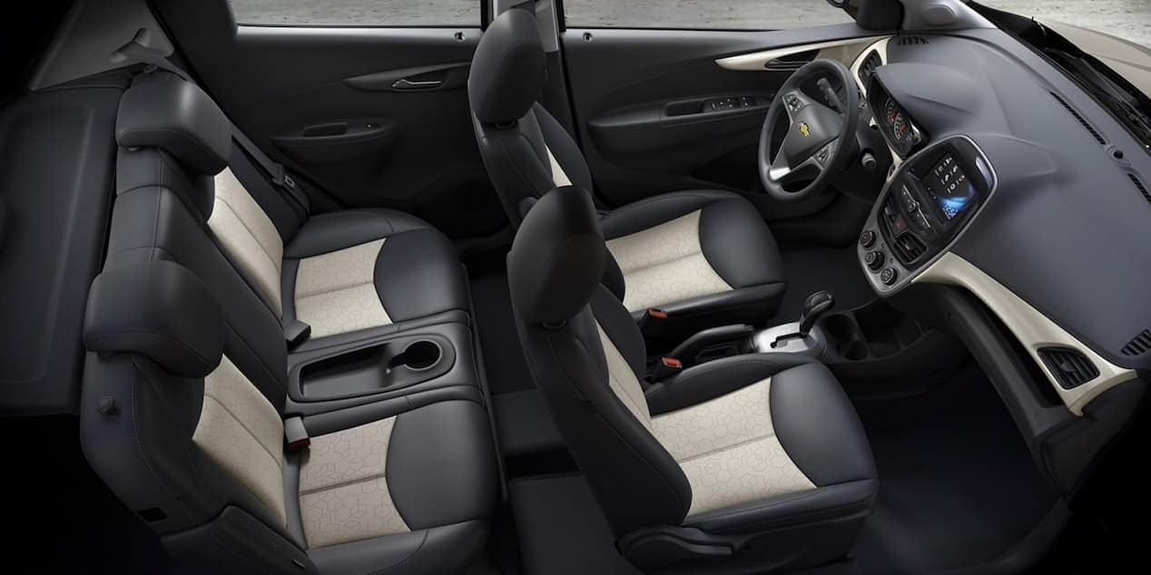 2018 Chevrolet Spark seating