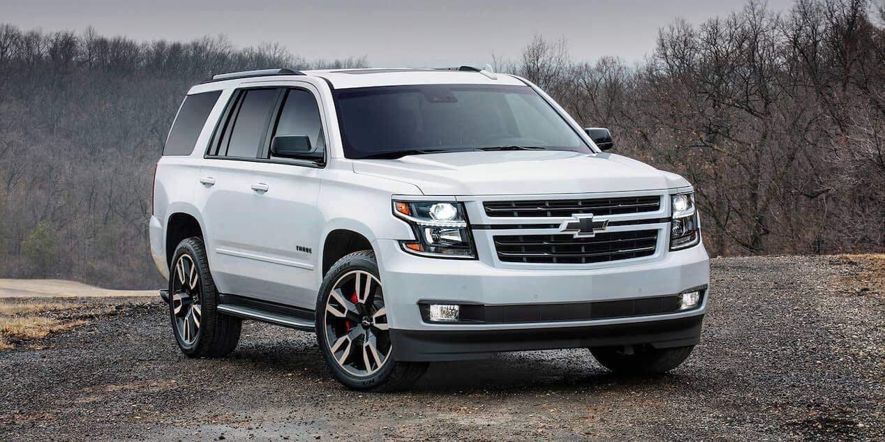White 2018 Chevrolet Tahoe
