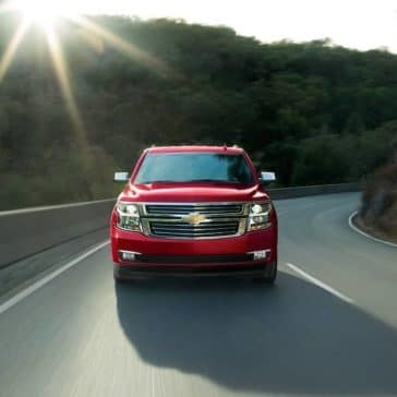 2018 Chevrolet Tahoe front fascia