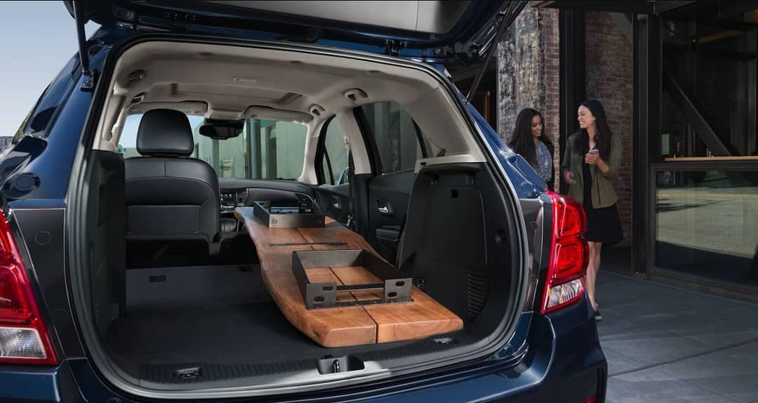 2018 Chevrolet Trax folding seats