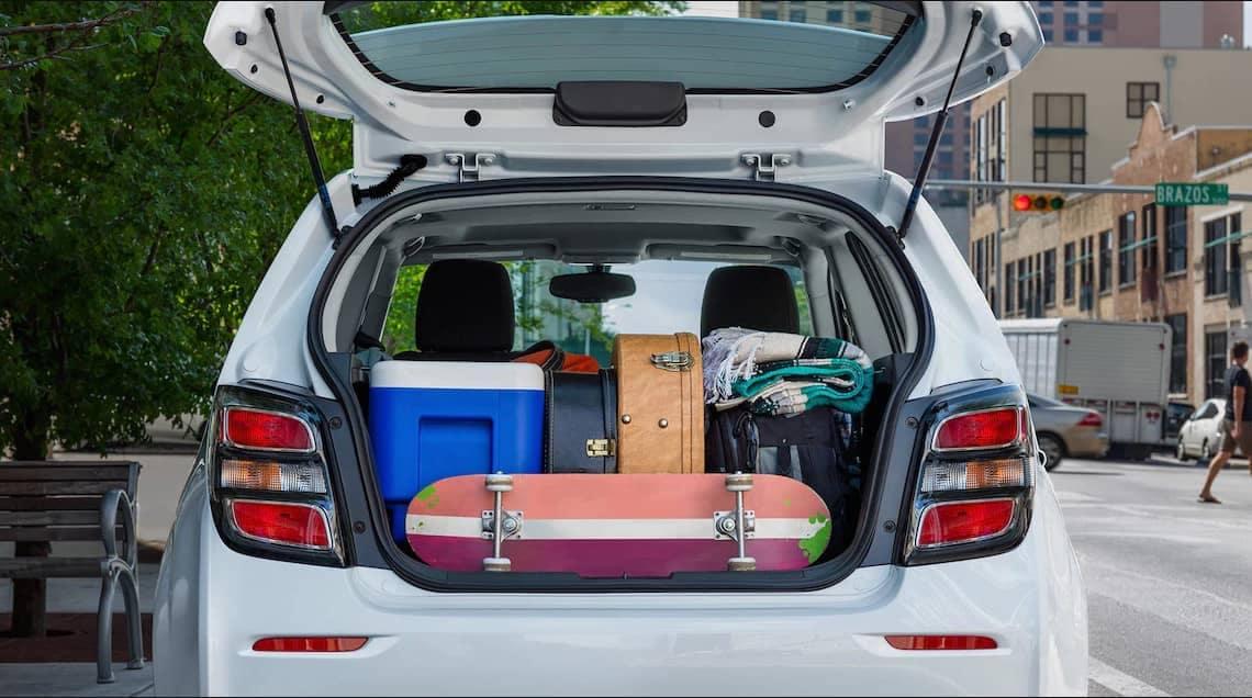2018 Chevrolet Sonic cargo space