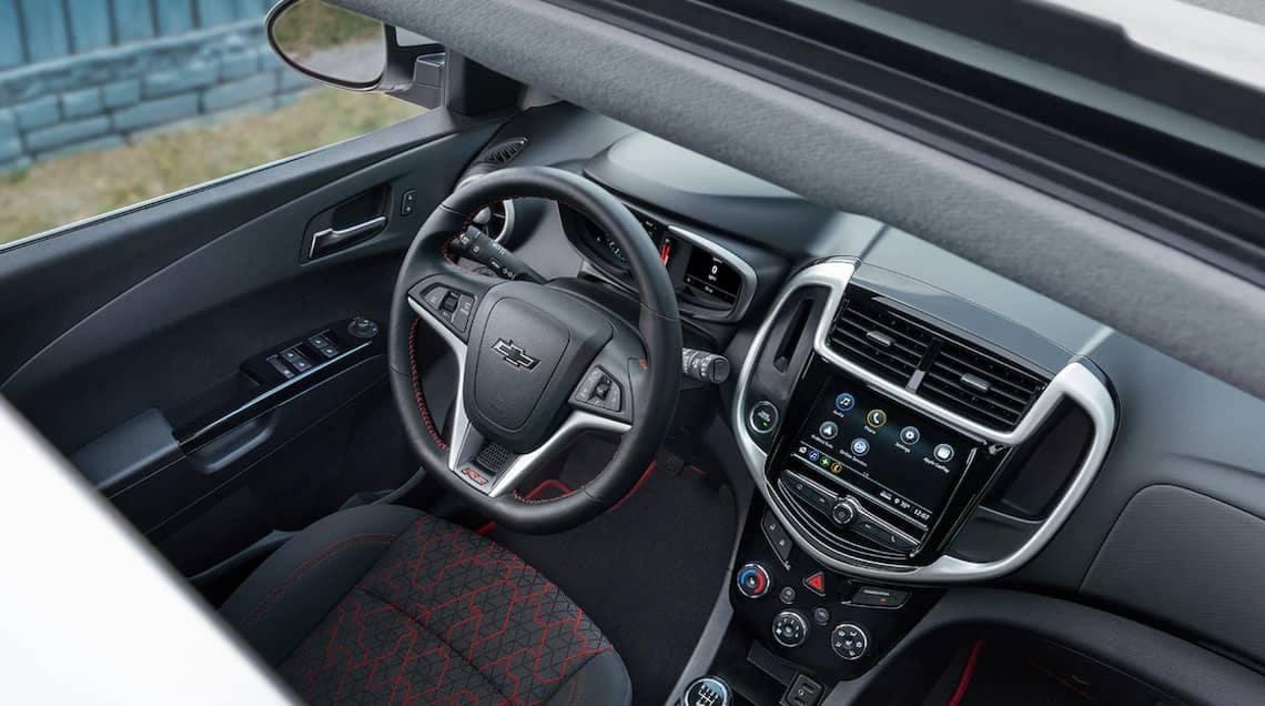 2018 Chevrolet Sonic interior cabin