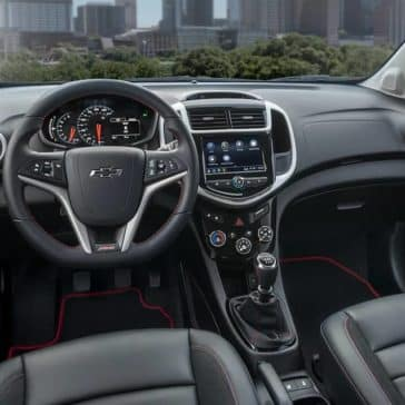 2018 Chevrolet Sonic dashboard