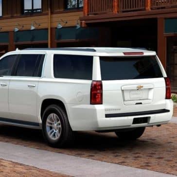 2018 Chevrolet Suburban rear exterior