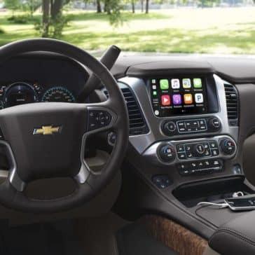 2018 Chevrolet Suburban dashboard