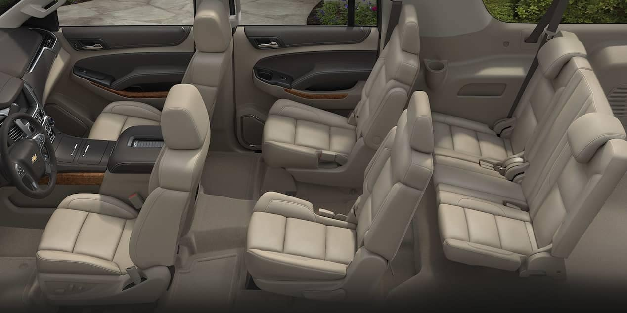 2018 Chevrolet Suburban interior cabin