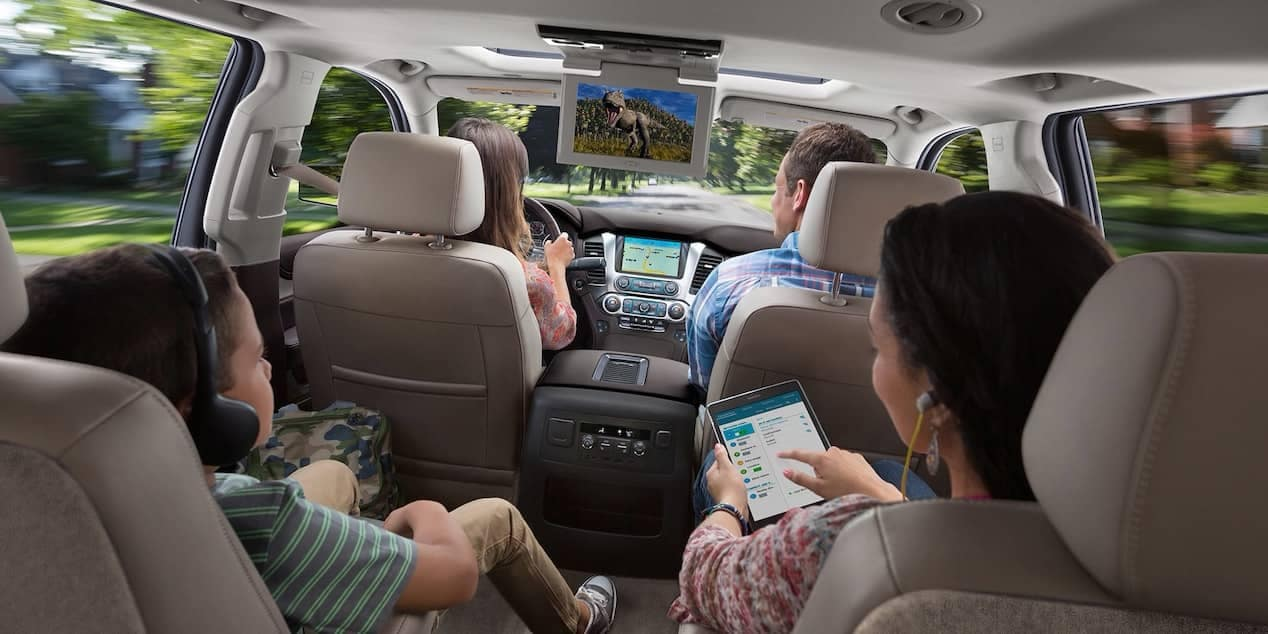 2018 Chevrolet Suburban with passengers
