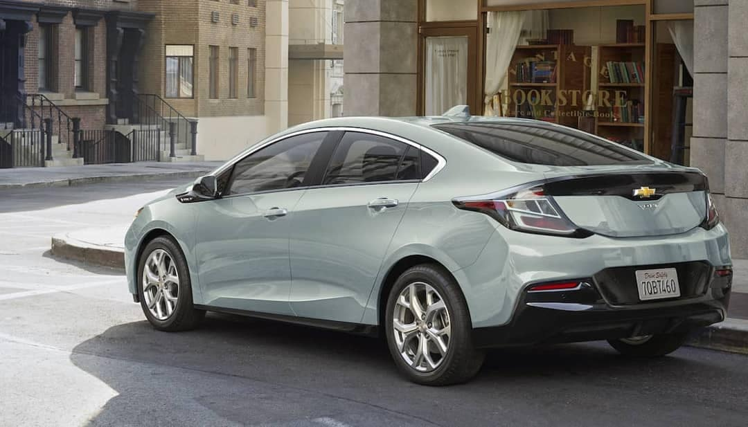 2018 Chevrolet Volt rear exterior