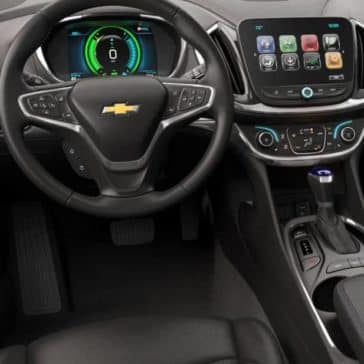 2018 Chevrolet Volt dashboard