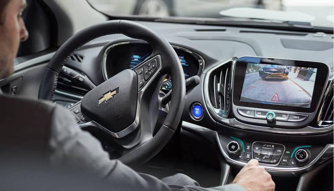 driver in 2018 Chevrolet Volt