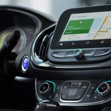 infotainment in 2018 Chevrolet Volt