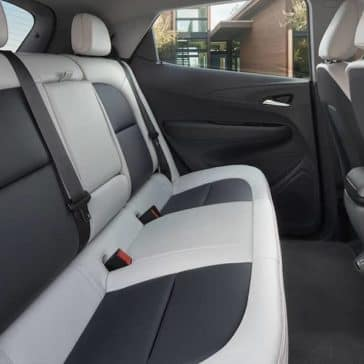 2018 Chevrolet Bolt EV Rear Seats