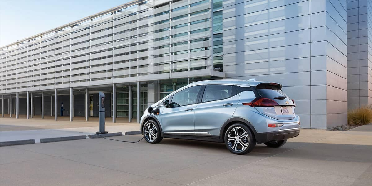 2018 Chevrolet Bolt EV charging
