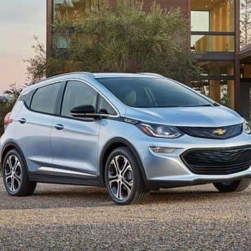 2018 Chevrolet Bolt EV parked