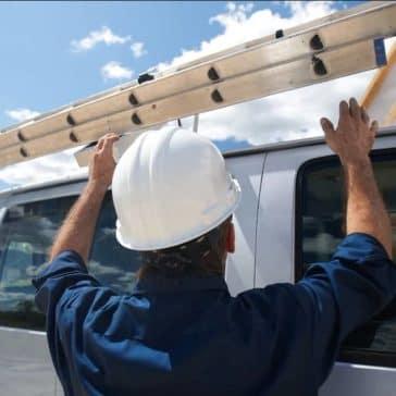 2018 Chevrolet Express Cargo Van roof rack