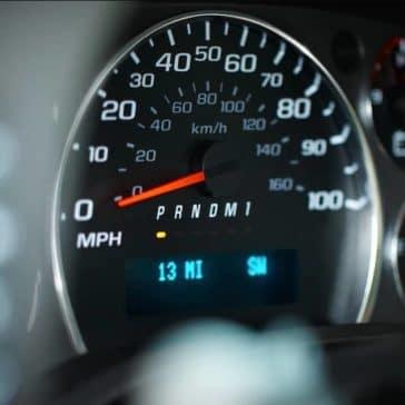 2018 Chevrolet Express Cargo Van speedometer