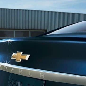 2018 Chevrolet Impala rear exterior