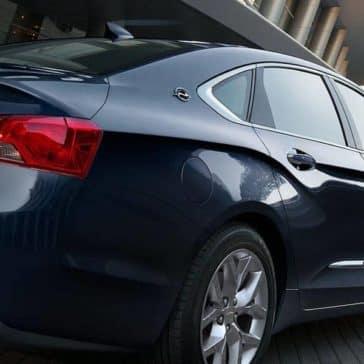 2018 Chevrolet Impala exterior body line details