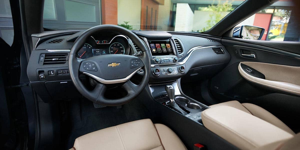2018 Chevrolet Impala dashboard