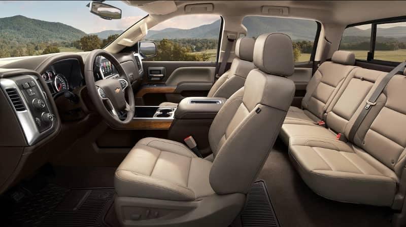 2018 Chevrolet Silverado 1500 Interior Cabin