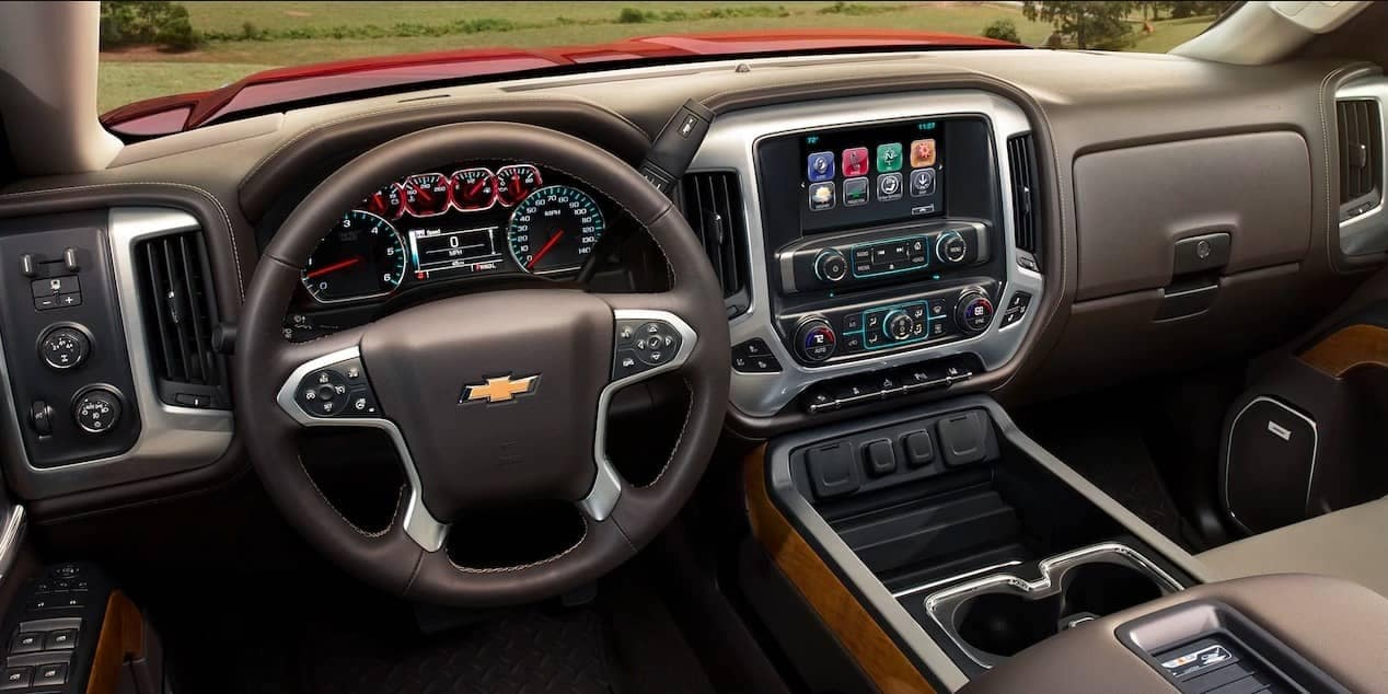 2018 Chevrolet Silverado 2500HD dashboard