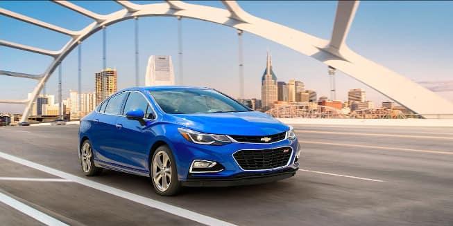 Blue 2018 Chevrolet Cruze