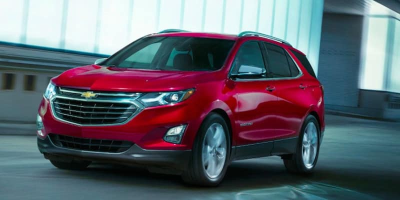 2019 Chevrolet Equinox on street