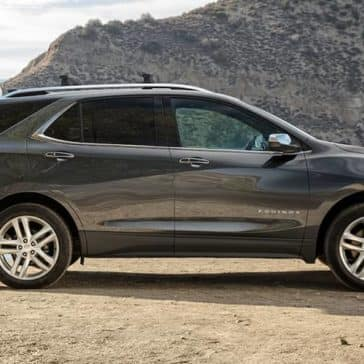2019 Chevrolet Equinox parked near water