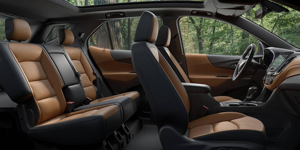 leather seating in 2019 Chevrolet Equinox