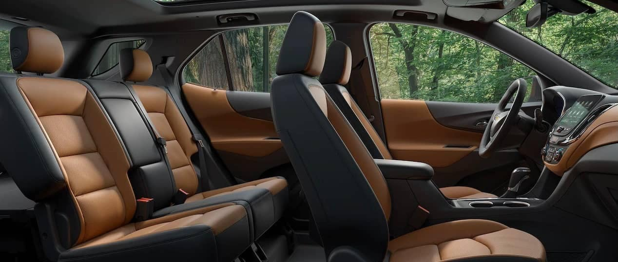 2019 Chevrolet Equinox interior cabin seating