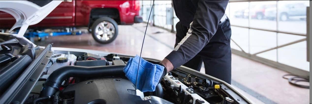 Chevrolet Service - Oil Change