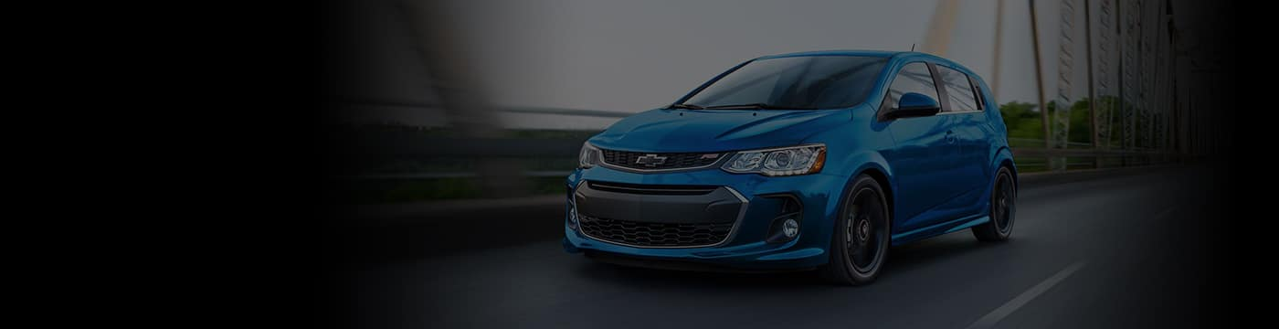 2019 Chevy Sonic Banner