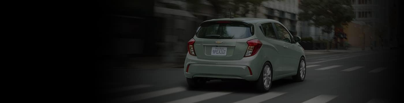 2018 Chevy Spark banner