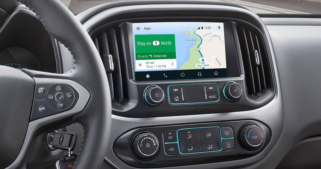 2019 Chevrolet Colorado touchscreen infotainmenr