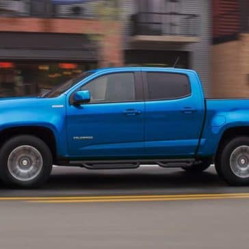 2019 Chevrolet Colorado side exterior