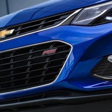 front exterior of 2019 Chevrolet Cruze