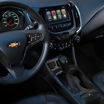 dashboard in the 2019 Chevrolet Cruze